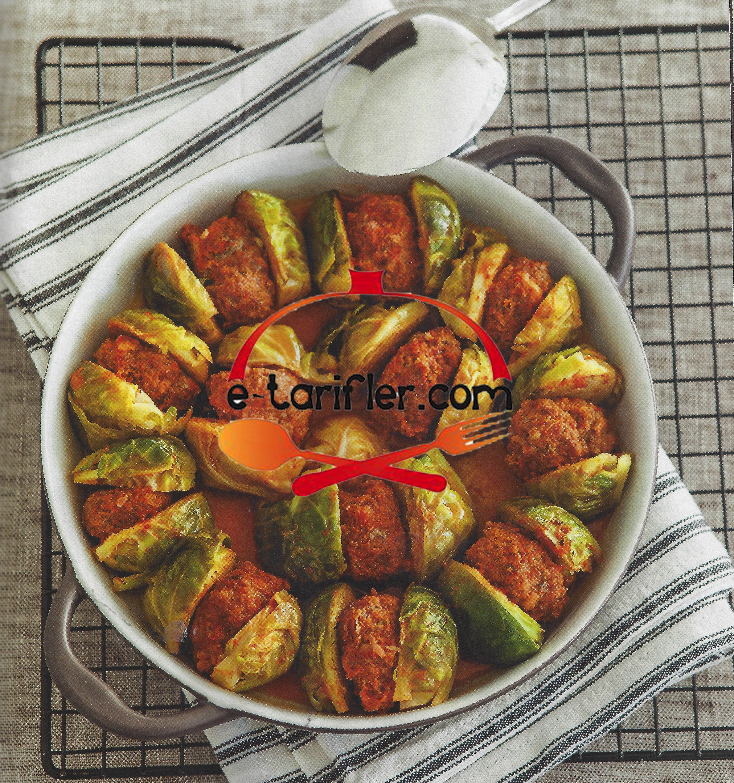 köfteli Brüksel lahanası tarifi resmi kopya
