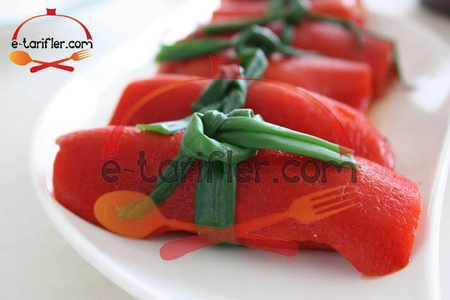 kırmızıbiber sarması resmi