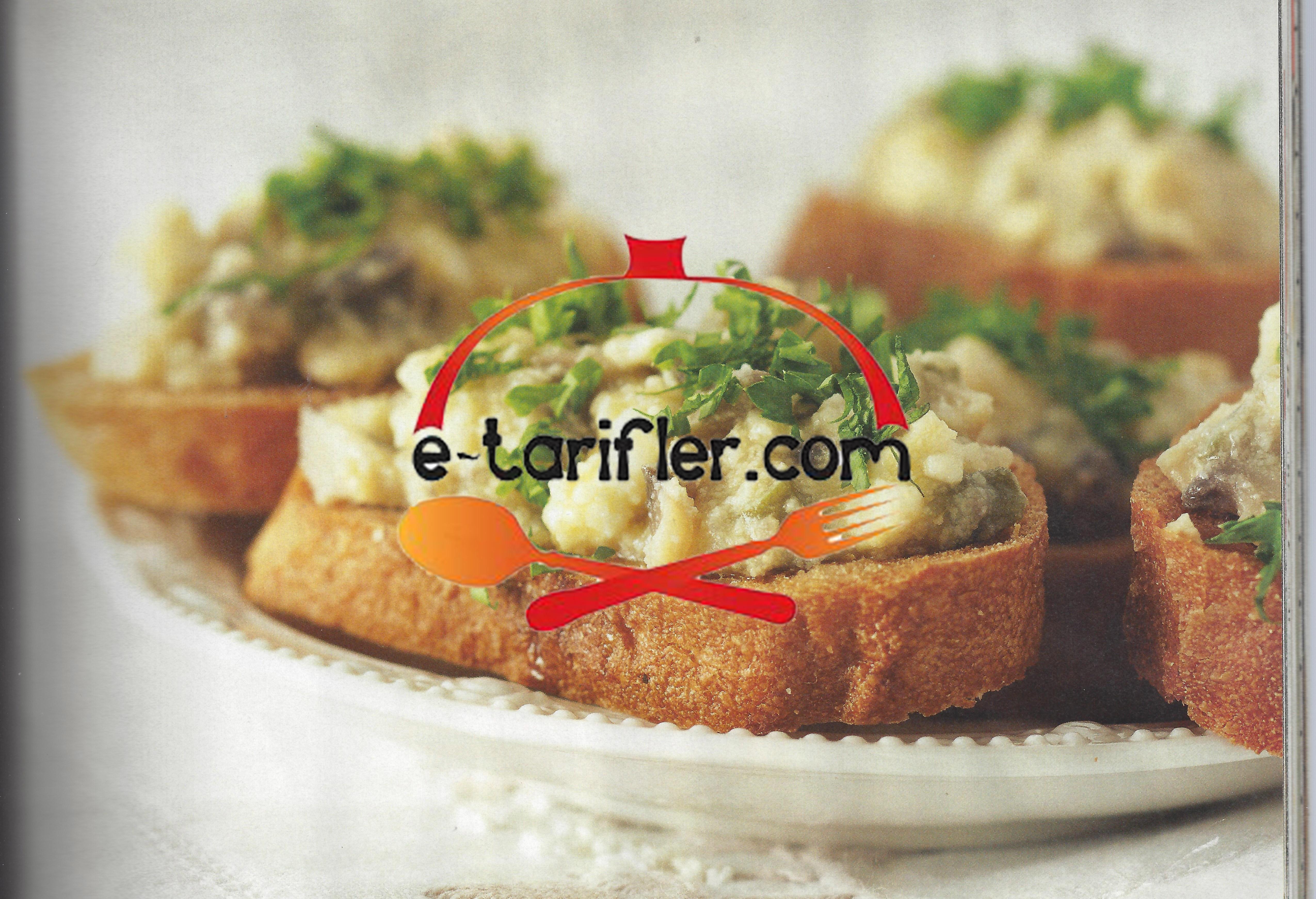 Keçi Peynirli Kanepe Tarifi