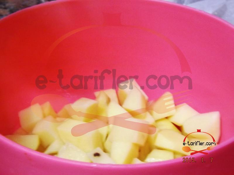 Bezelyeli Patates Yemeği Patatesler