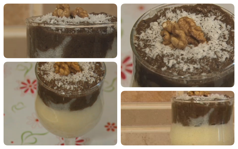 Kakaolu irmik tatlısı resmi