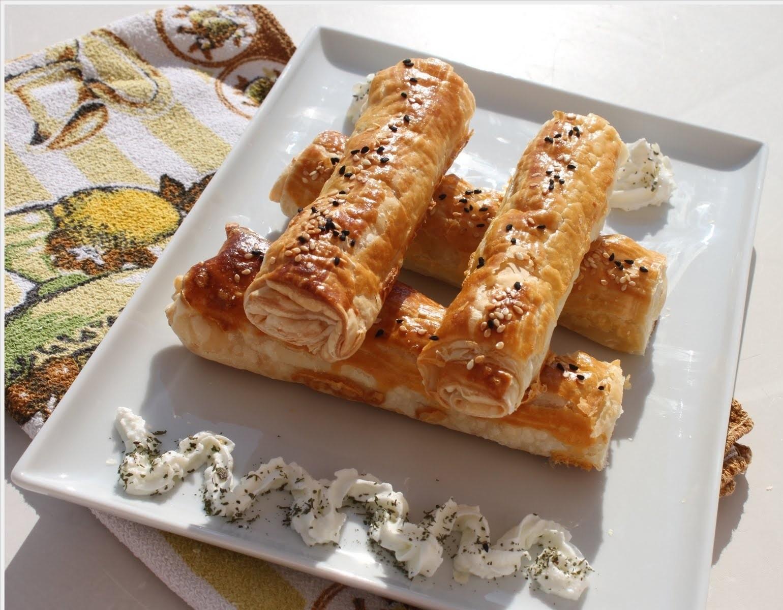 Peynirli Cevzili Rulo Börek