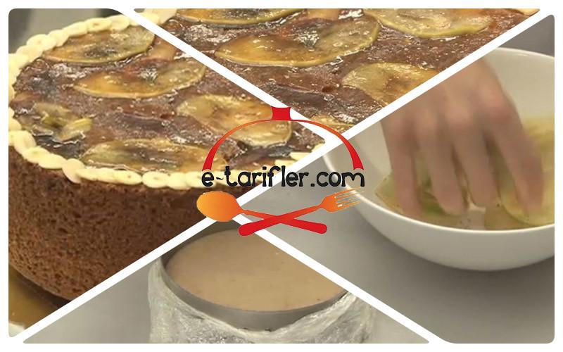 elmalı ıslak kek resmi