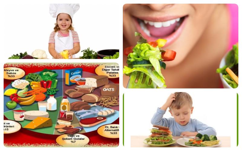 sağlıklı beslenme resmi