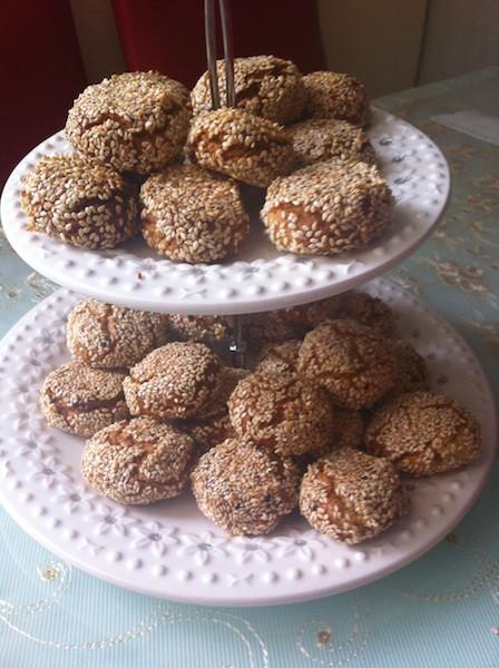tahinli susamlı kurabiye tarifi resmi