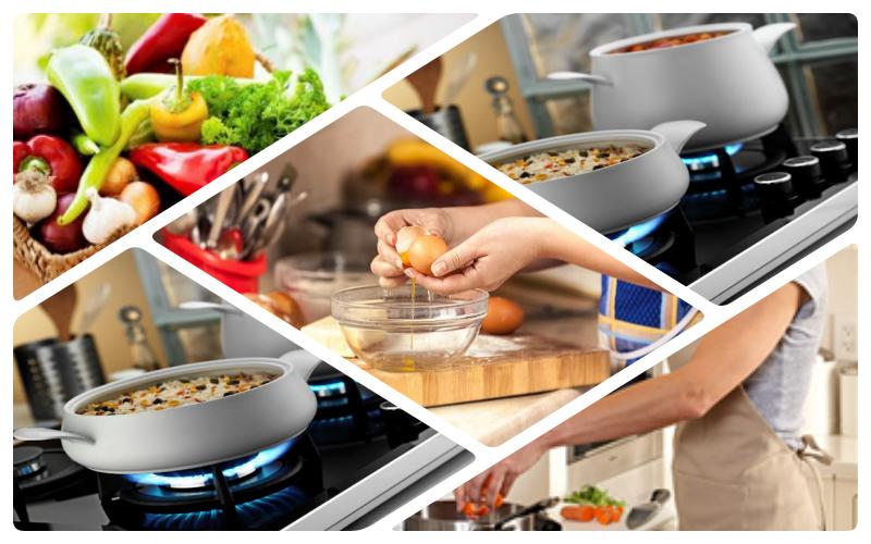yemek pişirirken gerekli olan bilgiler resmi