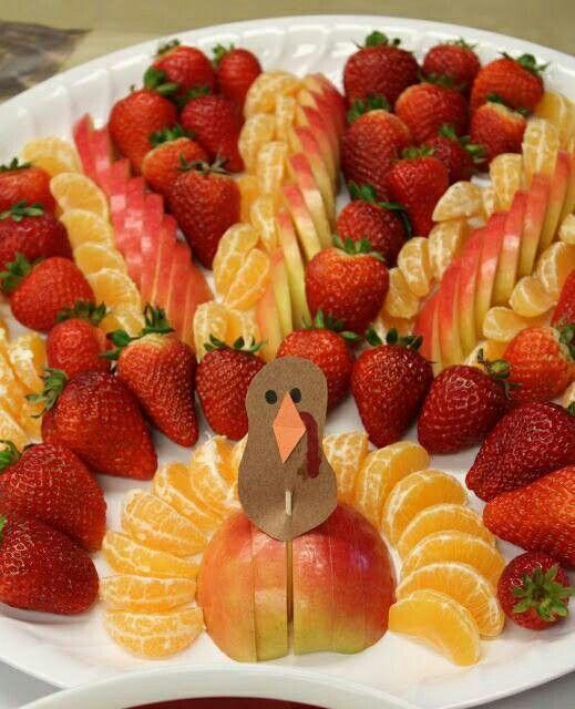 Muhteşem Meyve Süsleme Ve Sunumları 5