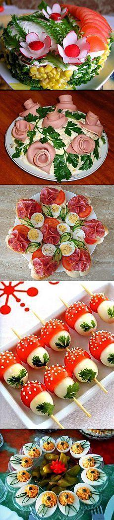 Görsel Salata Sunumları 16