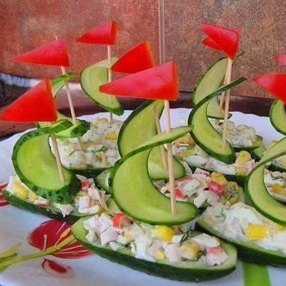 Görsel Salata Sunumları 27
