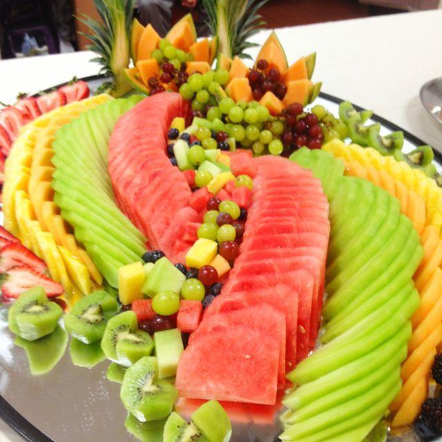 Muhteşem Meyve Süsleme Ve Sunumları 19
