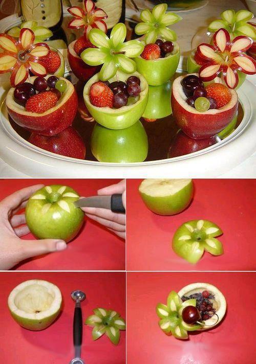 Muhteşem Meyve Süsleme Ve Sunumları 4