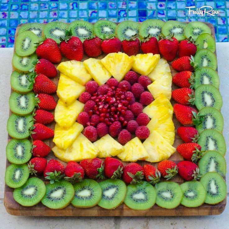 Muhteşem Meyve Süsleme Ve Sunumları 11