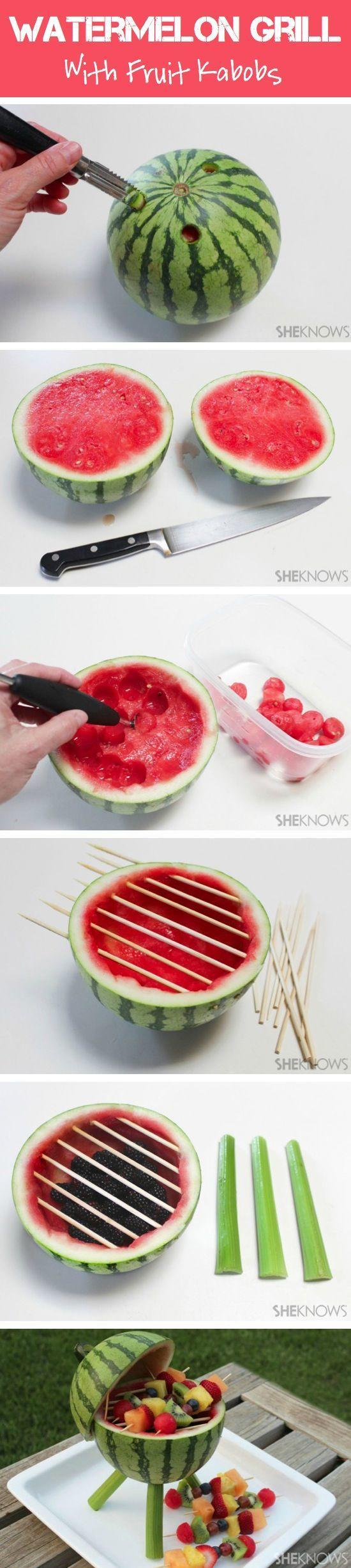 Muhteşem Meyve Süsleme Ve Sunumları 10
