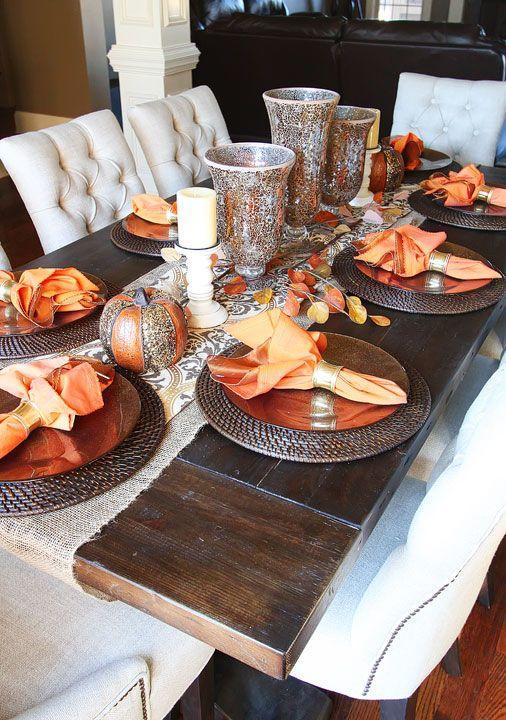 Şık Bir Yemek Masası Hazırlamanın Püf Noktaları 21
