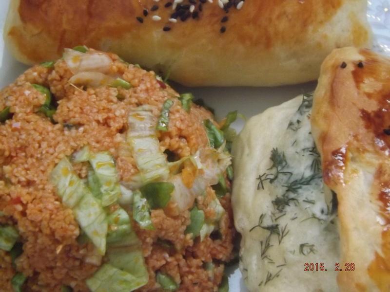 Peynirli Dere Otlu Poğaça 7