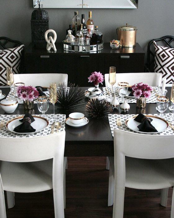 Şık Bir Yemek Masası Hazırlamanın Püf Noktaları 24