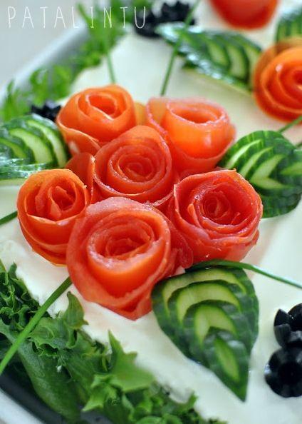 Görsel Salata Sunumları 5