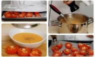 Fırında Domates Çorbası Tarifi