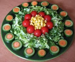 Görsel Salata Sunumları 7