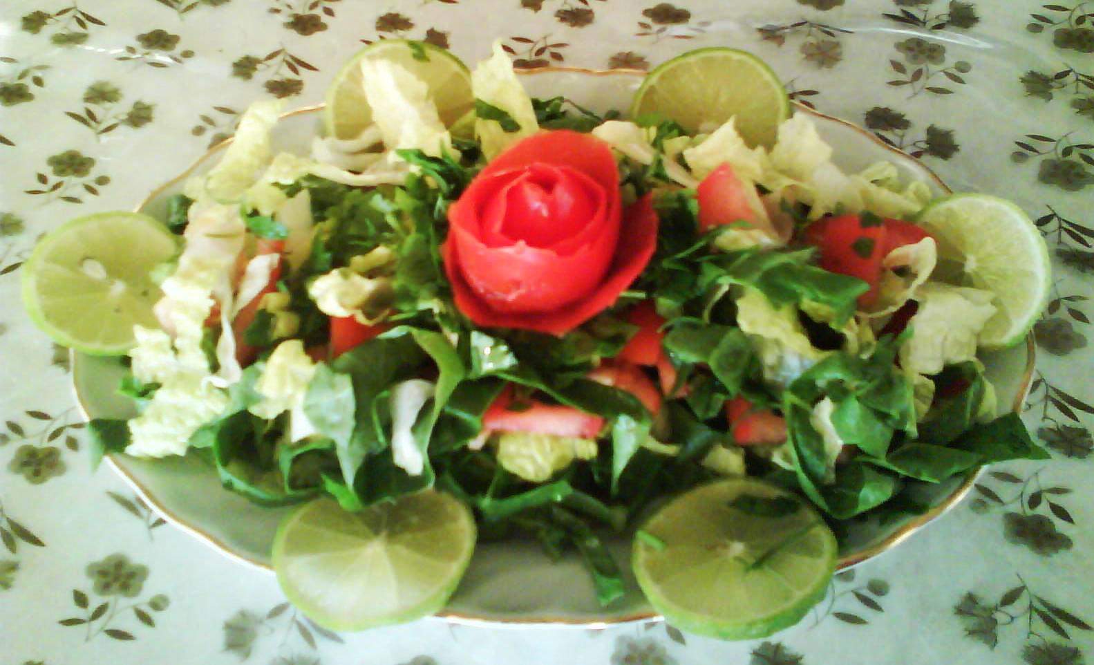 Görsel Salata Sunumları 3