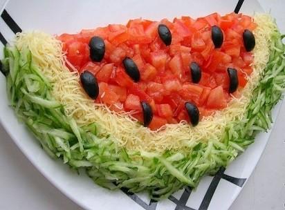 Görsel Salata Sunumları 22