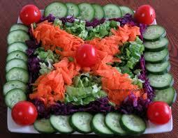 Görsel Salata Sunumları 40