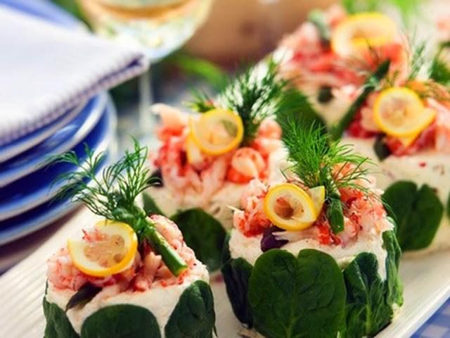 Görsel Salata Sunumları 12