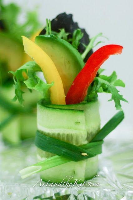 Görsel Salata Sunumları 43