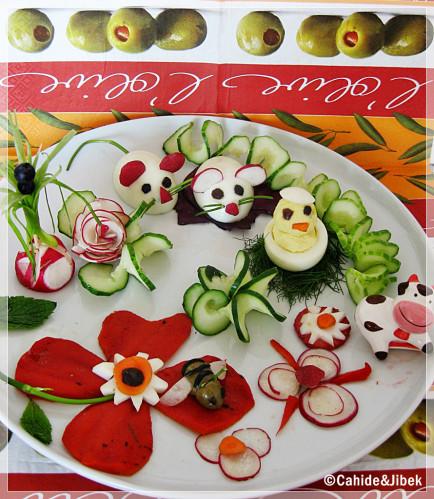 Görsel Salata Sunumları 33