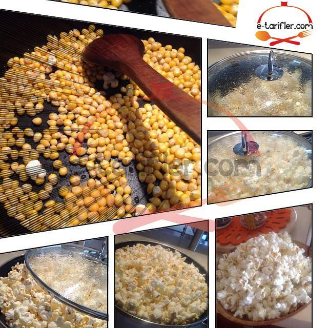 Patlamış mısır tarifi resmi