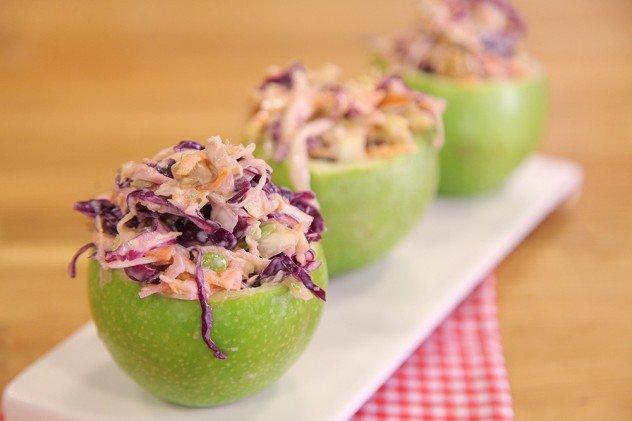 Yeşil Elma Çanaklı Salata-resmi
