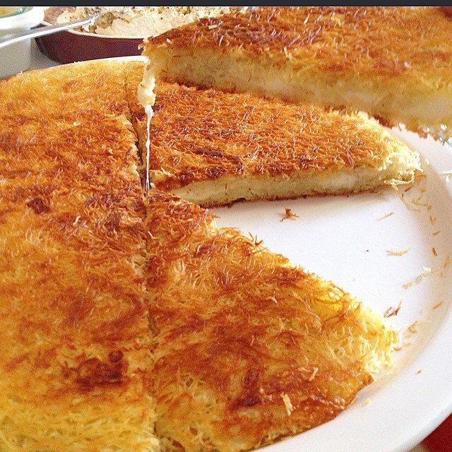 Tel Kadayıf Böreği (peynirli) Tarifi-resmi