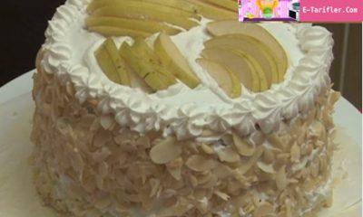 Armutlu Kek ve Pasta Tarifi