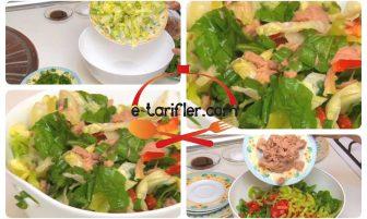 Ton Balıklı Salata (diyet) Tarifi