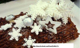 Kütük Pasta (kestaneli) Tarifi