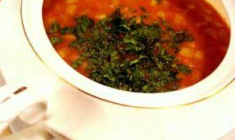 Kestaneli sebze çorbası Tarifi
