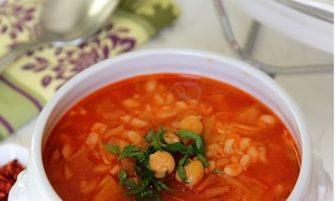 Beyaz Lahana Çorbası (nohutlu) Tarifi