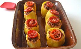 Fırında Patates Dolması Tarifi