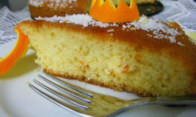 Portakal Şuruplu Kek Tarifi