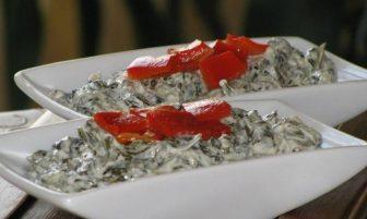 Ispanak Salatası (yoğurtlu) Tarifi