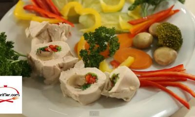 Diyet Farklı Tavuk Sarma Tarifi